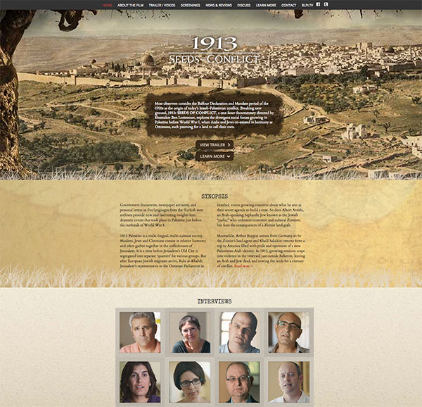 1913 Home page, built by emasai.com