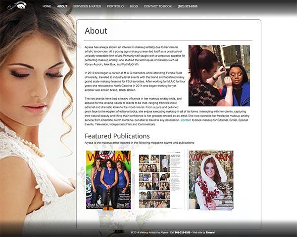 Alyssa-makeup inner page by emasai.com