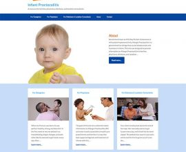 Infant Proctocolitis website